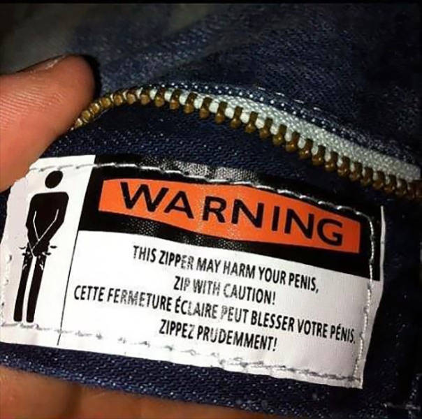 You'd Better Read These Hilarious Tags On Your Clothes
