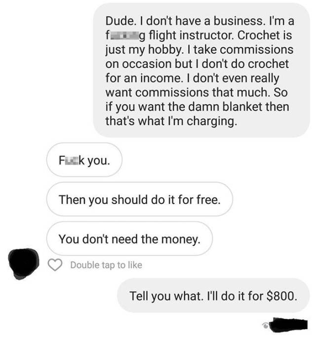And What Would You Do If Someone Wanted You To Do Your Job Essentially For Free?