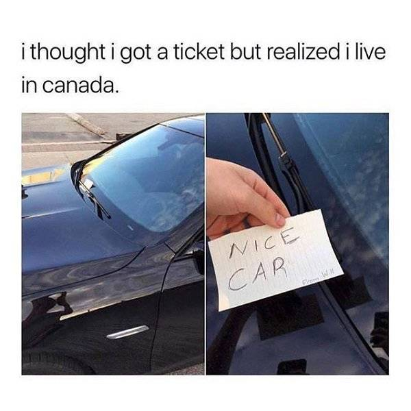 Canada, And Canada Only