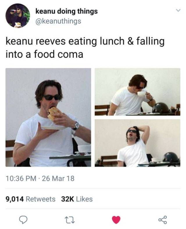 Keanu Reeves And His Awesome Memes