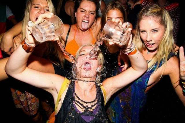 These Girls Never Stop Partying!