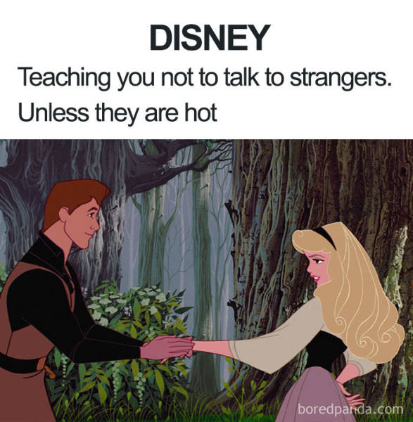 Disney Just Lets All Those Memes Go