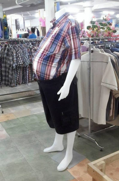 Mannequins Also Want To Live Life To Its Fullest!