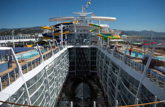World's Biggest And Most Expensive Cruise Ship Was Presented In Malaga!