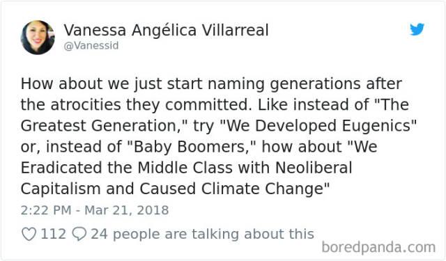 Millenials Versus Baby Boomers Is A Never Ending War…