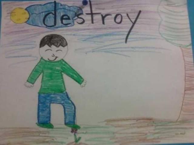 Kids Aren't Shy Of Doing Creepy Stuff…