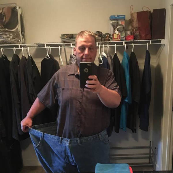 Obese Guy Decided To Change His Life After Seeing That His Excess Weight Might Have Killed Somebody