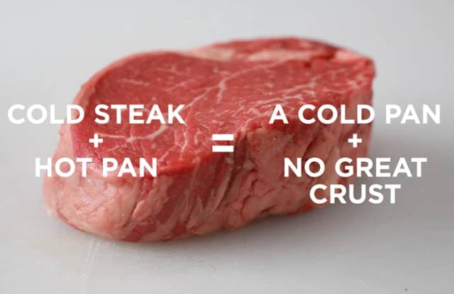 There's No Fatal Mistakes In Cooking The Perfect Steak