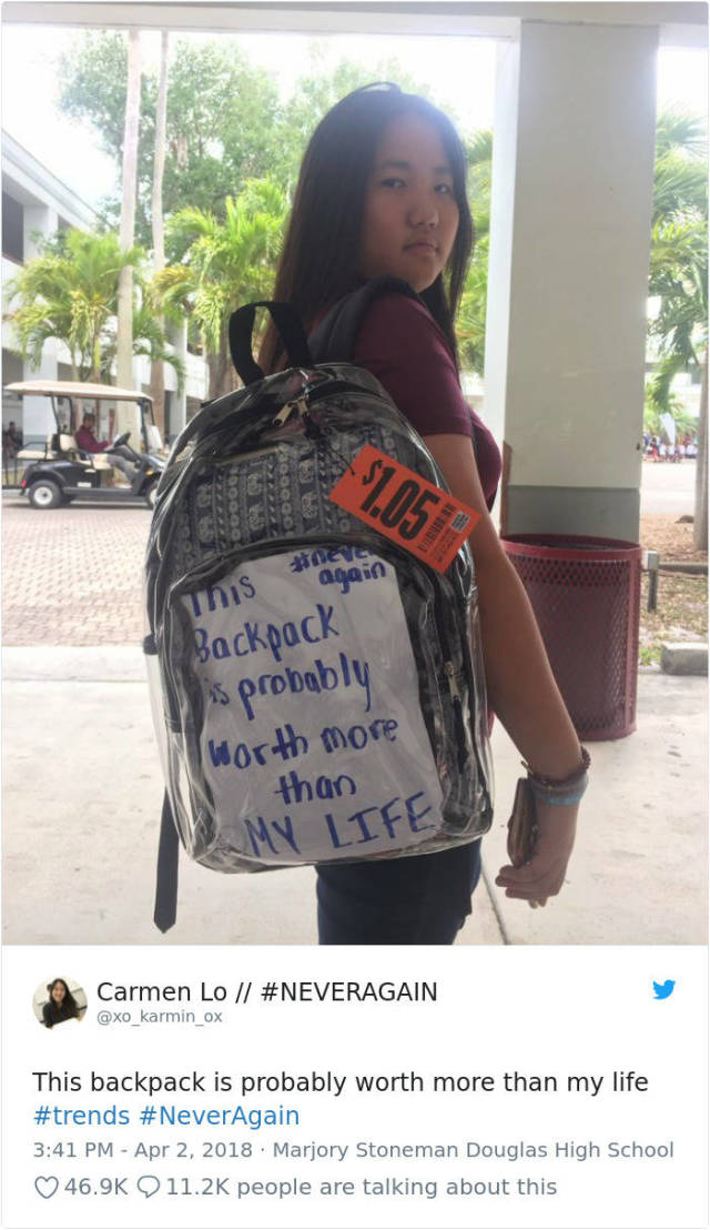 Parkland Students Are Now Forced To Use Transparent Backpacks And Everyone Deals With It In Their Own Way