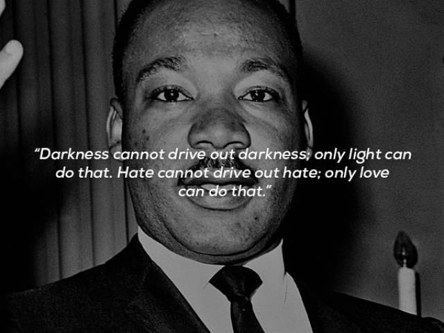 martin luther king jr was great at inspiring people 17