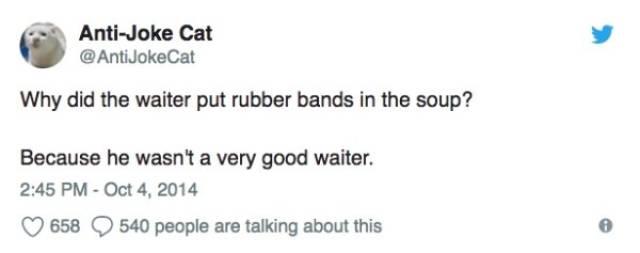 Anti-jokes Are Funny, But Also True