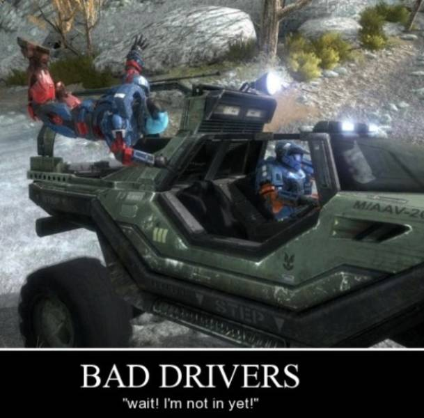 Hilarious Memes About Bad Driving