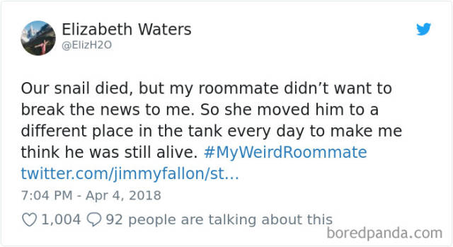 Share Your Best Roommate Stories With #MyWeirdestRoommate