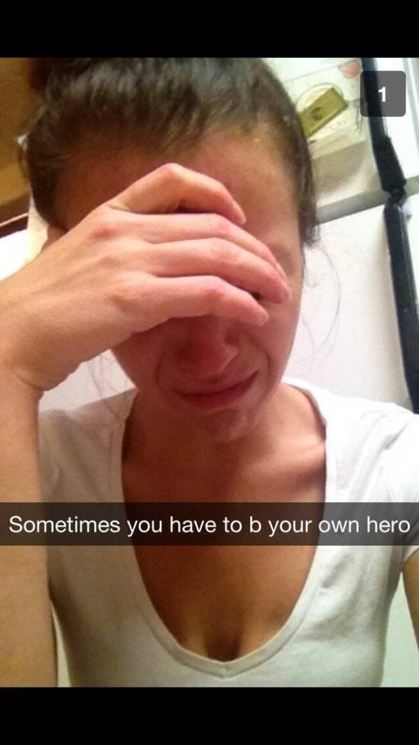 A Collection Of The Cringiest Photos From Snapchat