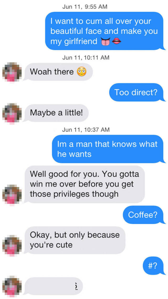 A Shocking Revelation Of How Girls React To Sleazy Pick-Up Lines On Tinder When Those Are Sent By The Hot Guy