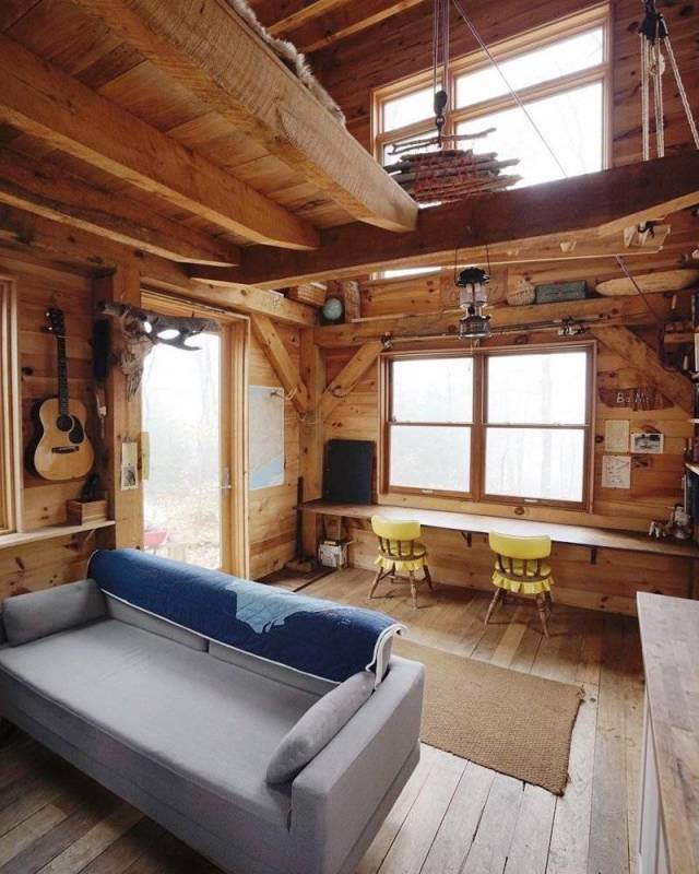 Coziest Wooden Houses
