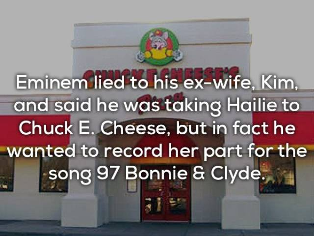 Surprising Facts About Eminem Just Came Rapping