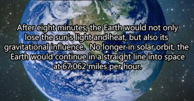 Imagine What Would Happen If The Sun Has Disappeared