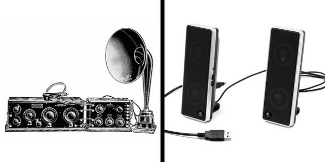 Observe How These Modern Everyday Objects Looked Like A Long Time Ago