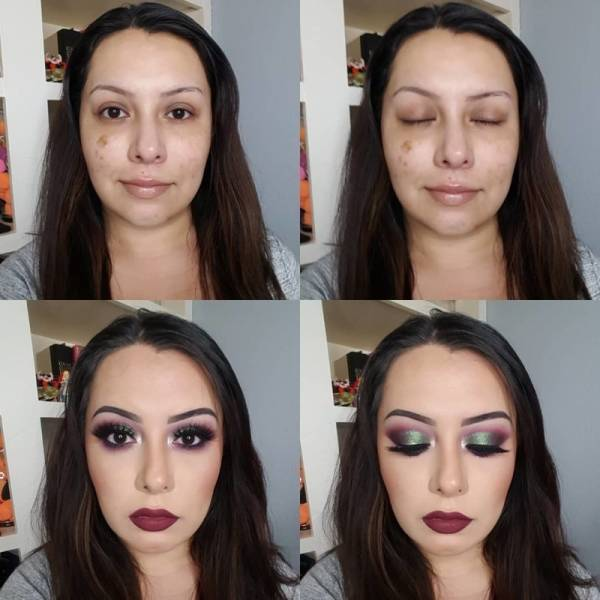 Photos That Show The Scary Power Of Makeup