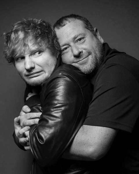A Security Guard Of Ed Sheeran Has An Instagram, And It's Better Than His Boss's