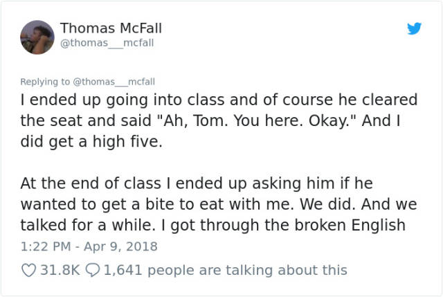A Student Gets Schooled By An Immigrant With A Subpar English