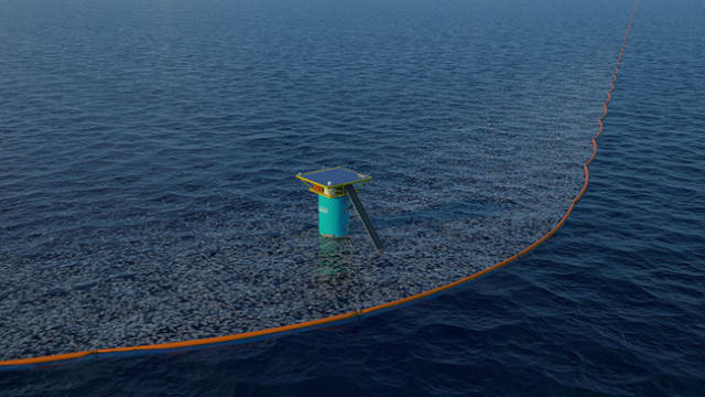 An Ingenious Invention To Clean The Ocean From The Plastic Waste