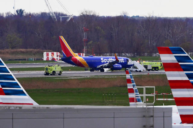 Passenger Live Streams Aftermath Of Southwest Plane Engine Explosion