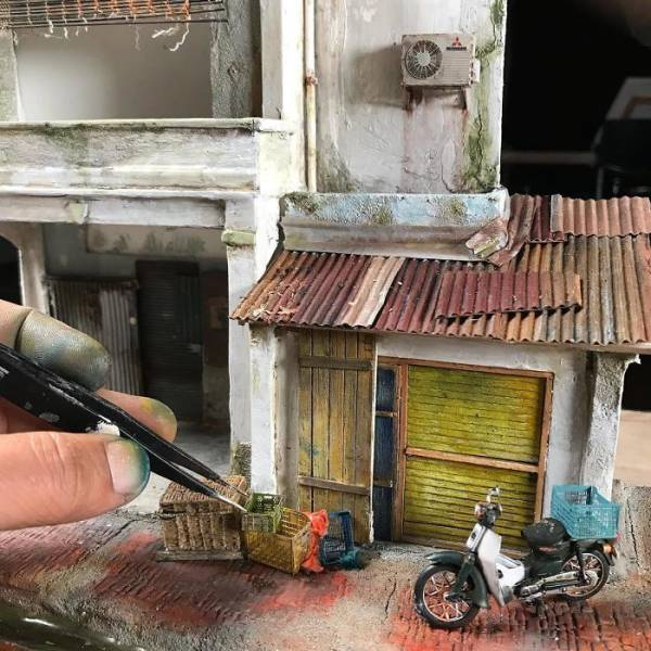 This Guys Makes Dioramas With The Greatest Attention To Details