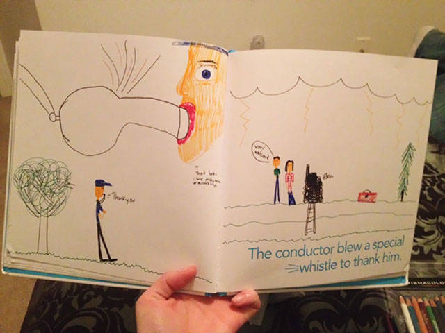 A Collection Of Unintentional Sexual Puns Drawn By Kids