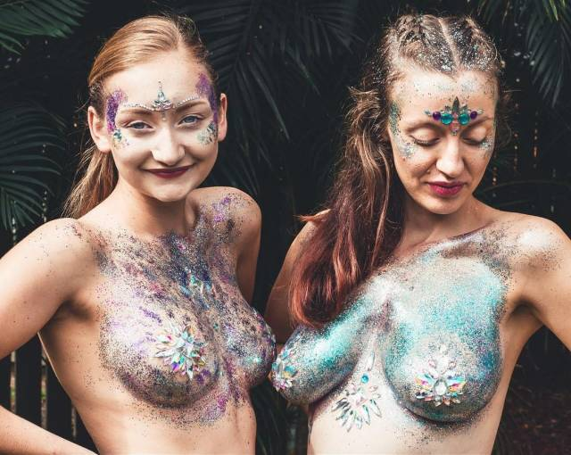 Glitter Boobs Are Music Festival Season