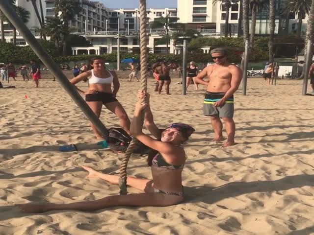 Impressive Beach Workout