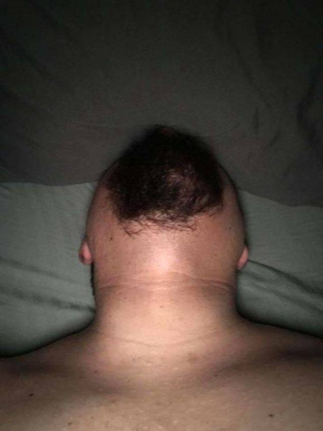 Disturbing Photos Of Bearded Chins From Below Is Something You Didn