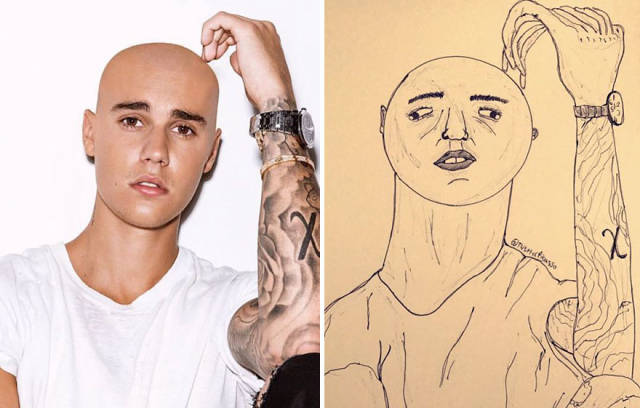 These Celebrity Portraits Are So Bad, They Are Actually Fantastic!