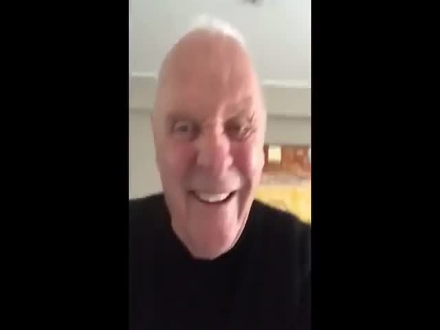 Anthony Hopkins Is Going Absolutely Crazy