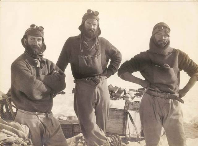 First Australian Antarctic Expedition Of 1911-1914 Looked Like This