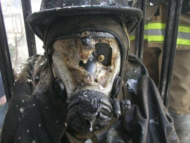 Firefighting Is A VERY Dangerous Profession