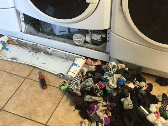 Washing Machines That Eat Socks Is Only A Part Of Horrible Truth…