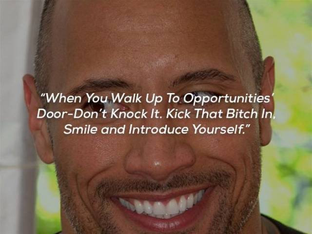 "Dwayne ""The Rock"" Johnson Also Has Some Pretty Motivational Quotes"