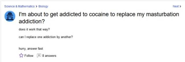 Yahoo Is Full Of Stupid Questions And Stupid Answers