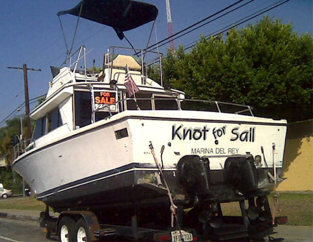 Boat Names That Could Enter A Contest For The Most Hilarious One