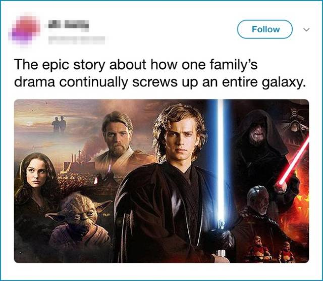 Each Movie Plot Can Be Seen Very Differently…