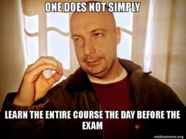 This Professor Knows That End Of The School Year Is The Time For Memes