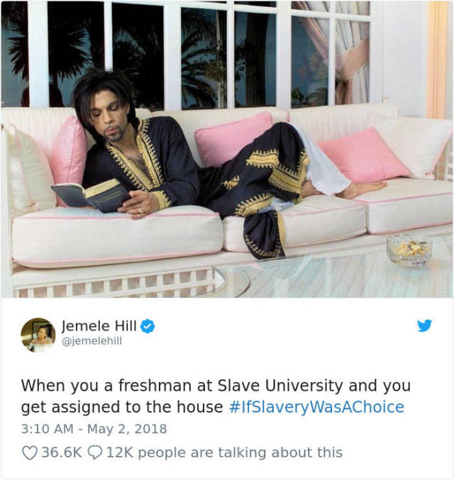 Internet Hilariously Responds To Kanye West's Claim That Slavery Seemed Like A Choice