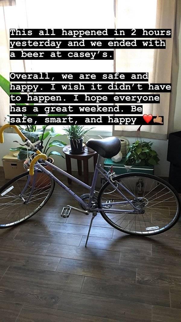 Internet Helped Him Find His Girlfriend's Stolen Bike