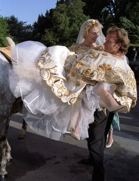 How Celebrities Looked When They Got Married