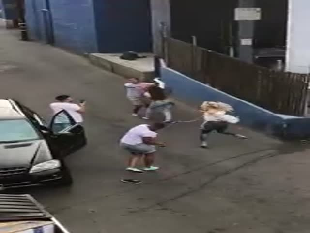 Cinco De Mayo Is Celebrated With A Drunk Brawl In West Hollywood
