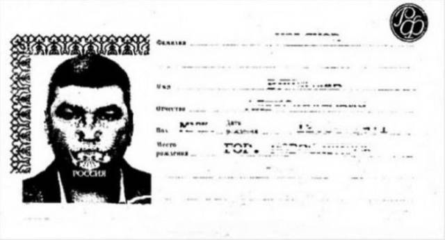 Copying Russian Passports Has To Be Banned!