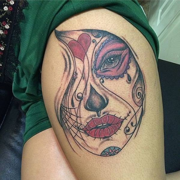 When The Tattoo Artist Knows Exactly What You Want