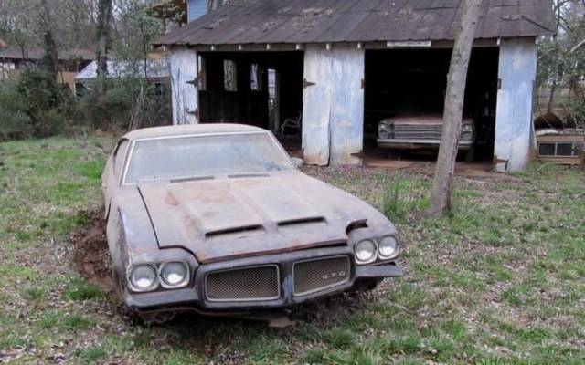 Abandoned Legendary Cars